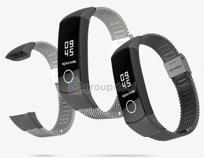 MiJobs Milanese ремешок для Huawei Honor Band 4/5