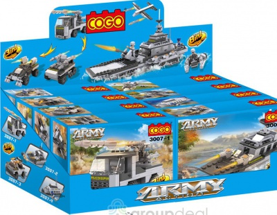 Конструктор COGO 8in1 Building Block Military Army