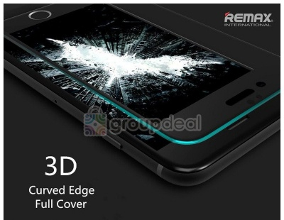 Remax 3D Curved Tempered glass Iphone6/6s and +