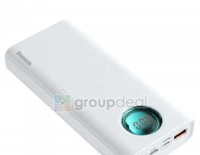 Baseus Power Bank Amblight Digital 20000mAh
